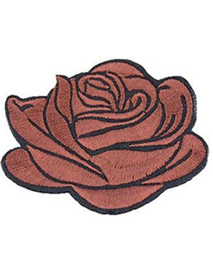 charles bronson fan pages Brun Rose Patch 6 cm