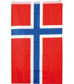 b0724cf2 Norsk Posterflagg 90x60 cm