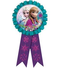 5b0cf6cd3d2a Premie Rosett med Bilde og Glitter - Frost - Disney Frozen