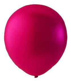 Rosa Metallic Ballonger 23 cm - 100 stk MEGAPACK ca2b3b3f34c05