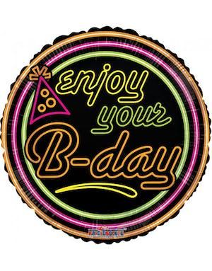 8ba5e7d1aa40 Enjoy Your B-day - Folieballong 46 cm