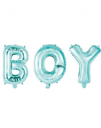 acb75149 nicky hayden hospital BOY - 3 stk Lys Blå Folieballonger 41 cm
