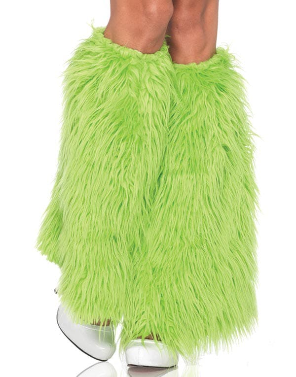d2351aa9 Furry Leggvarmere i Neon Grønn
