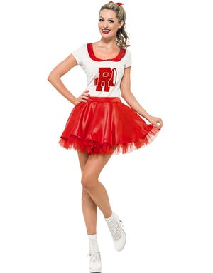 Cheerleader Sandy - Licensierad Grease Kostym 642c85c1f879b