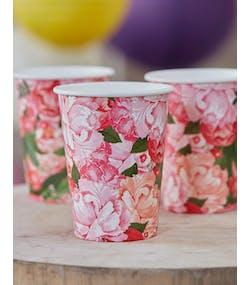 size 40 2c897 718e7 8 st Pappmuggar 255 ml - Bohemian Rose