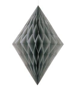 separation shoes 38df5 0cf00 1 st Silverfärgad Diamantformad Honeycomb 35 cm