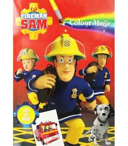 Brandmannen Sam Magisk Målarbok 16 Sidor 156bb48a9fdcc