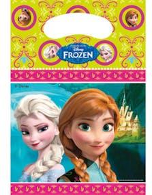 daadd539 6 stk Godteposer med Frost Motiv - Frost - Disney Frozen