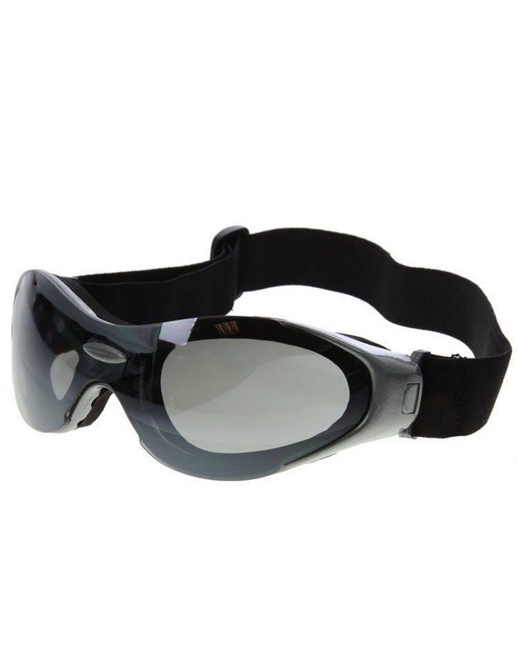 Alien Look Grå Goggle m Mörkt Glas