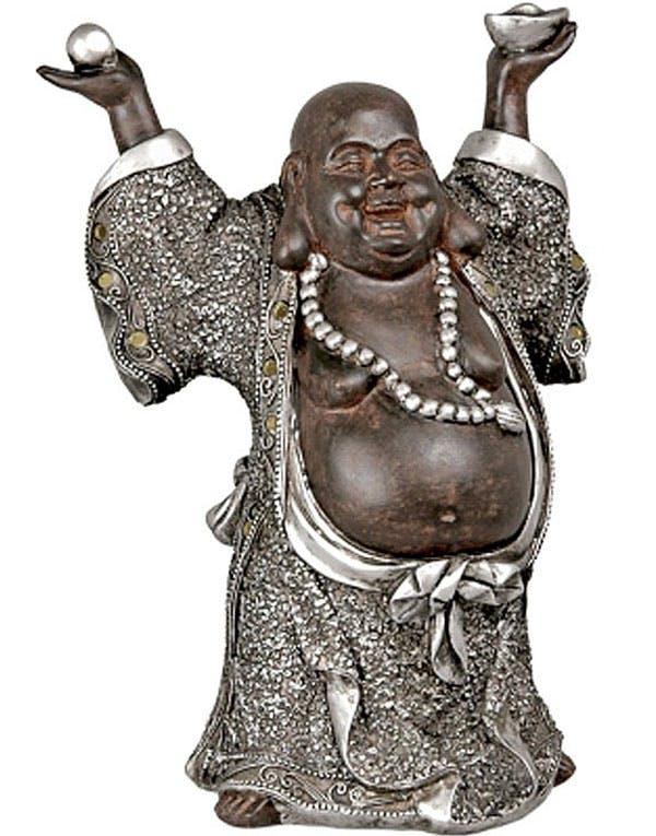 Happy Buddha 20 Cm Figur Og Andre Buddha Figurer