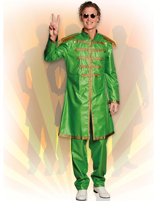 Beatles jakke i grøn | Jakke, Beatles og Kostumer