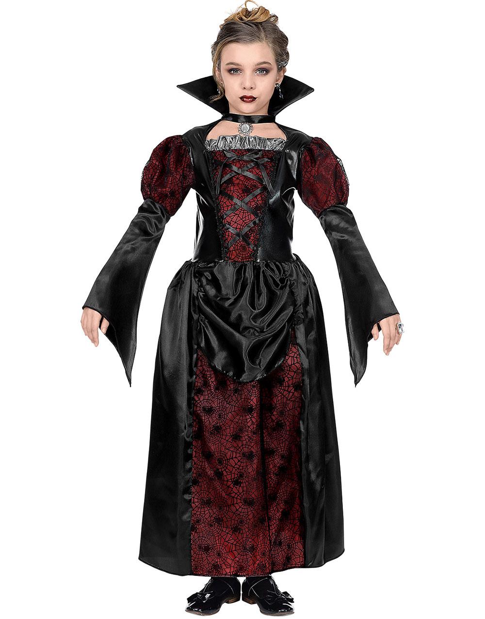 Vampyr Barnekostyme til Jente