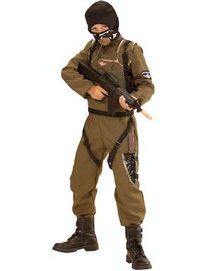 Special Forces - Fallskärmsjägare Maskeraddräkt (Barn) - Militär ... fbce02f42d359