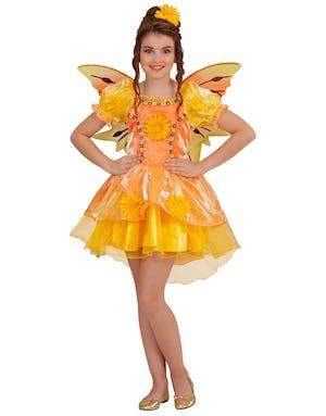 71d97776 Summer Fairy - Kostyme til Barn med Vinger - Alver & Feer - Kostymer ...