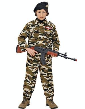Militär Maskeraddräkt (Barn) med Hatt - Militär - Maskeraddräkter ... ec83795346d11