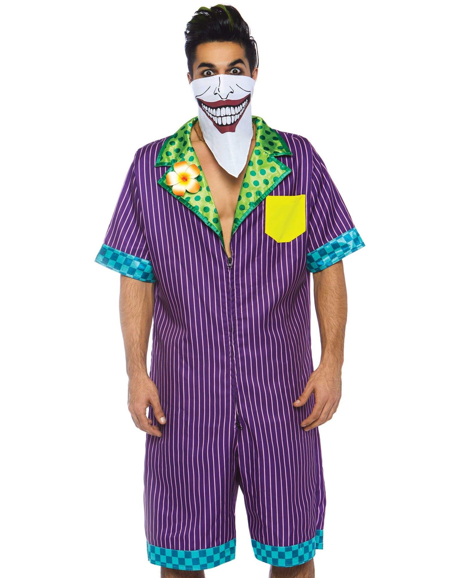 Joker-Inspirerad Maskeraddräkt (Herr) - The Joker - Superhjältar och ... aa4dd97113dd8