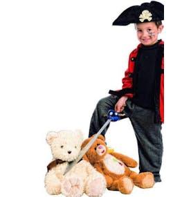 1f42fbbfd2dc8 Kaptein på Piratskipet - 2 Delt Barnekostyme