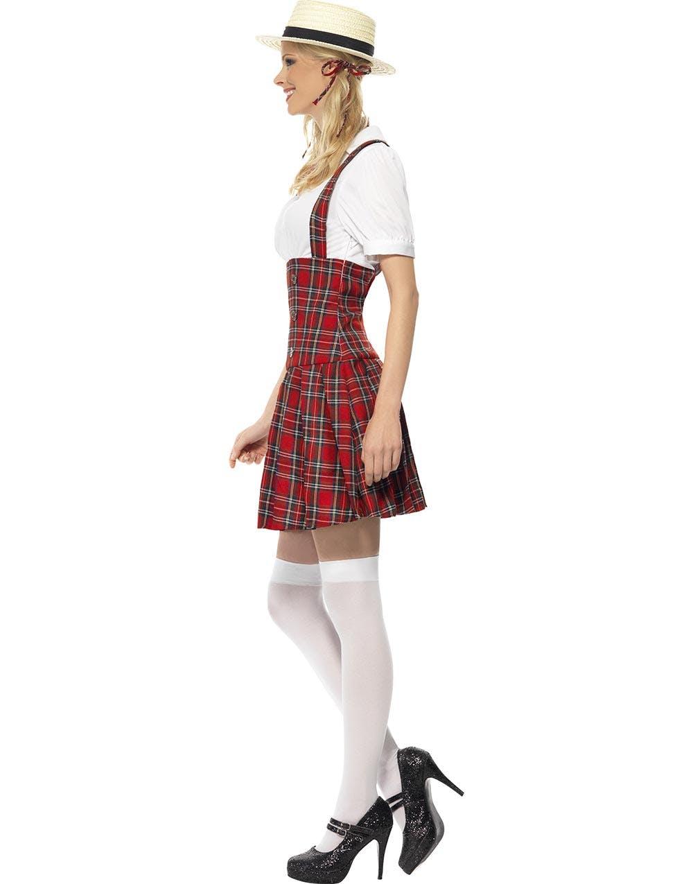 Snygg Skolflicka Uniform - Damdräkt 78a40c18c3508