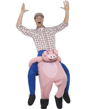Gris Piggyback Ride - Unisex Lyxdräkt 9580042226c0b