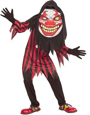 Horror Clown - Barndräkt med Mask b61c32f8927bd