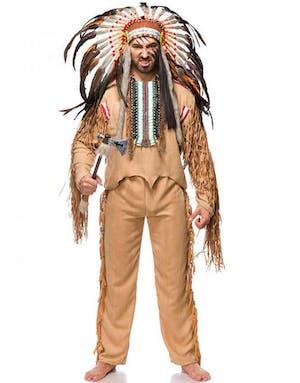 2cd27f36 Komplett Indianer Luksuskostyme til Mann - Voksenkostymer - Kostymer ...