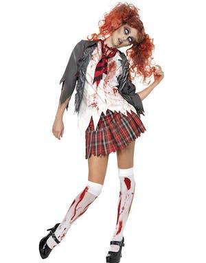 Zombie Skolflicka - Kostym 29bb67593faea