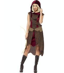 Red Riding Hood Huntress - Damdräkt 738ca184dd07c