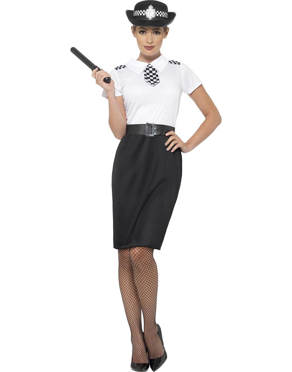 politi kostyme dame latex anal