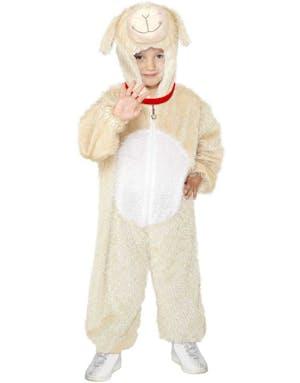 Lam-Kostyme til Barn i Plysj 64e75f49bfe75