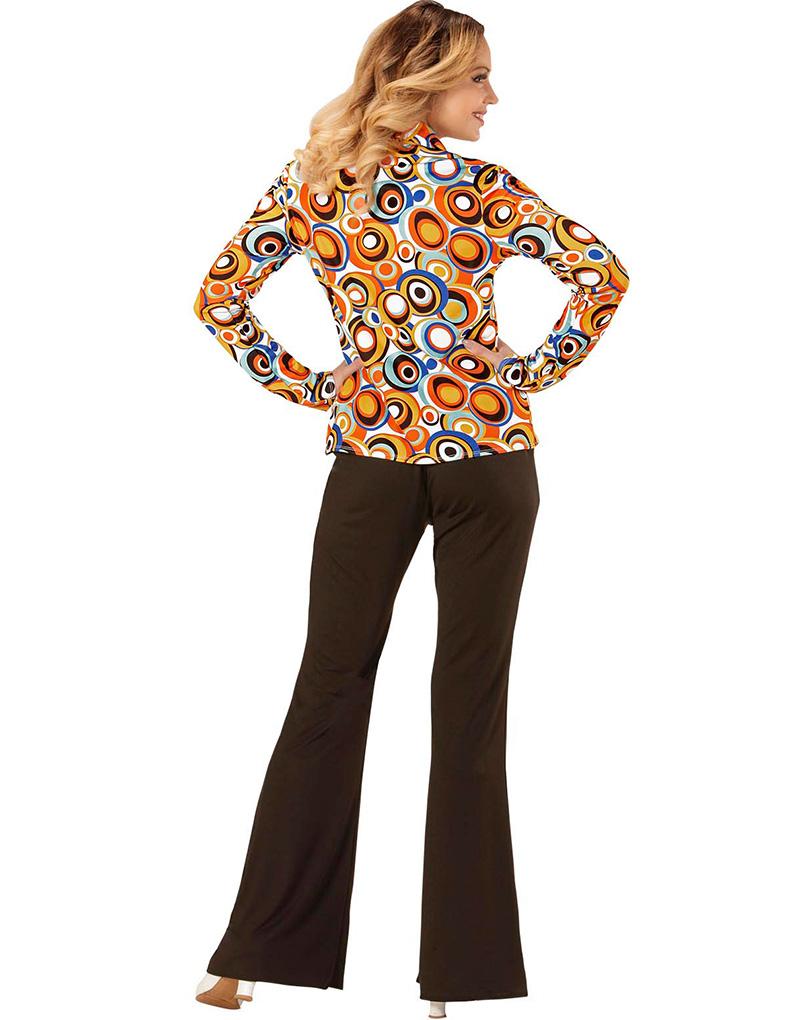 Disco Kostymskjorta 70 till Dam Bubblor Tals Utqxv5
