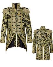 3335d577d Sølvfarget Glitrende Tailcoat Kostymejakke til Dame