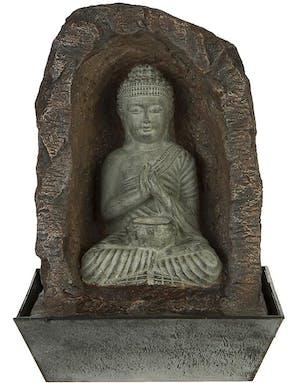 Stor Buddha Vannfontene Med Lys 42 Cm Figur Og Andre
