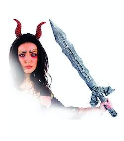 Hells Wrath Sword - Ca 85 cm Maskeradtillbehör 00d30749bb7ec