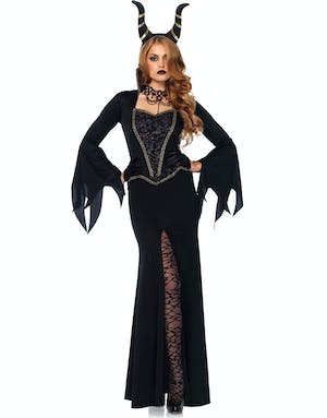 Evil Maleficent - Kostym med Horn f987f3e45a6f8