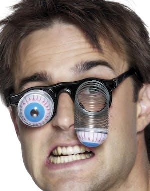 Roliga Glasögon med Utstickande Ögon 55c40c687a670
