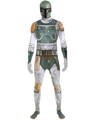 15e2d1bd Lisensiert Boba Fett Star Wars - Orginal Morphsuit Kostyme med