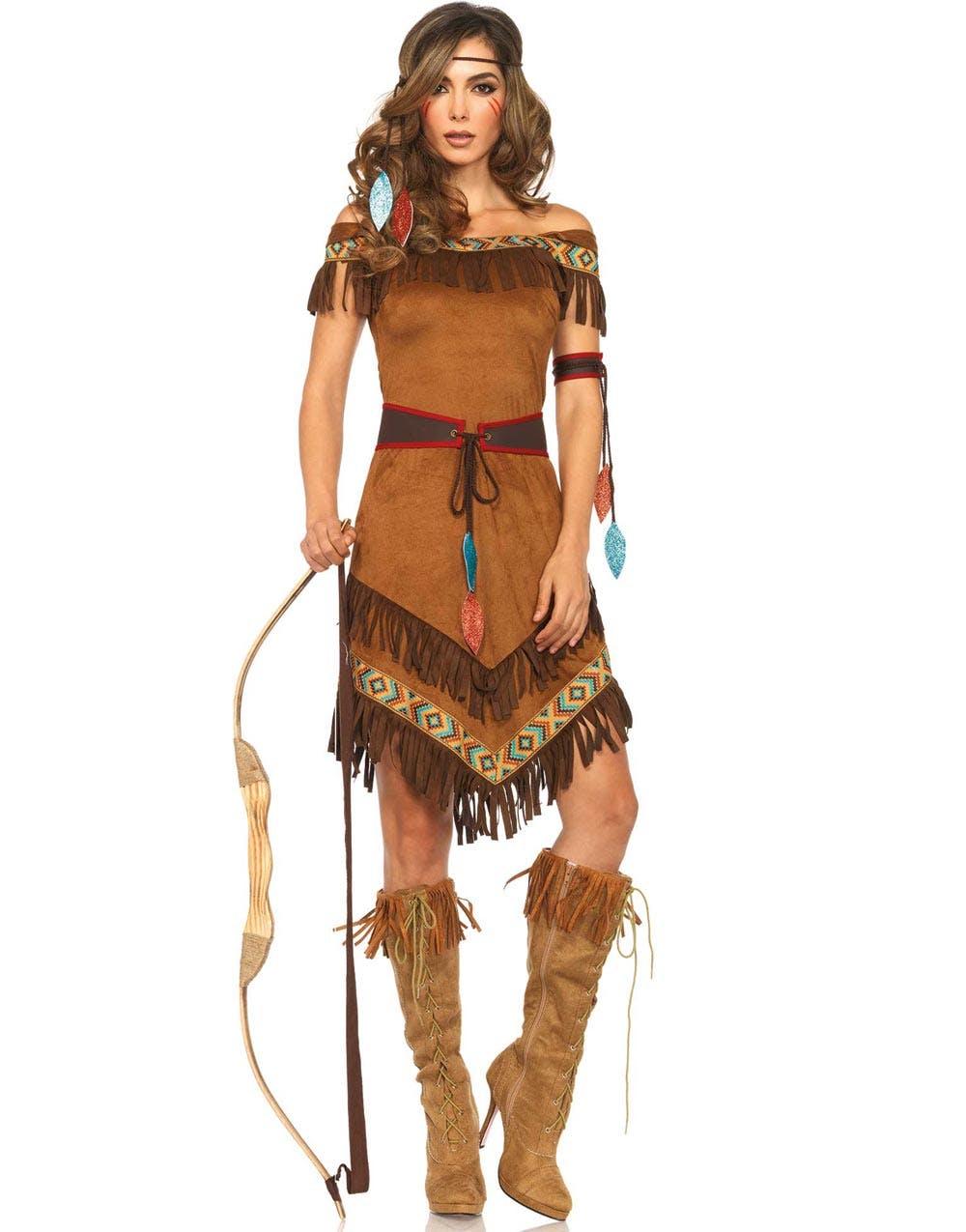 aeef4f9f Indianer Prinsesse - Luksuskostyme