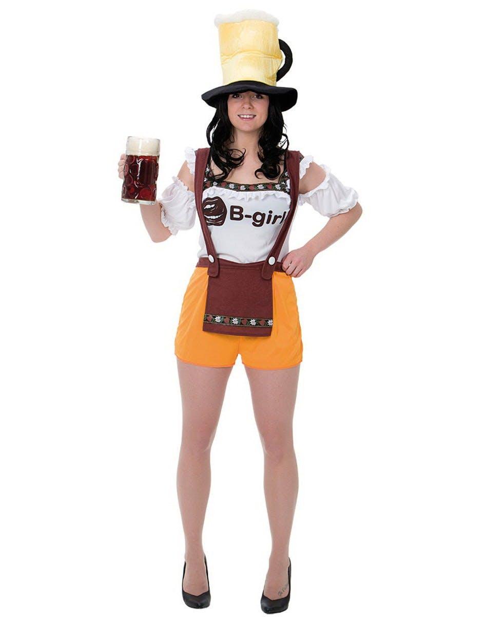 friade på engelska Frøken Oktoberfest Kostym 137a803d3c48d