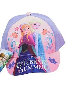 a9e7f752 Celebrate Summer - Lisensiert Frost Anna og Elsa caps til barn