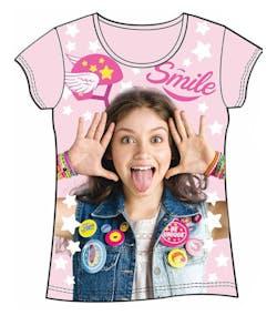 Licensierad Ljus Rosa Soy Luna T-Shirt cbb0b713df5cb