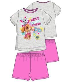 Grå och Rosa Paw Patrol Skye och Everest Pyjamas df7d666604d87