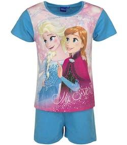 Ljus Blå Anna och Elsa Pyjamas till Flicka 12b300a880132
