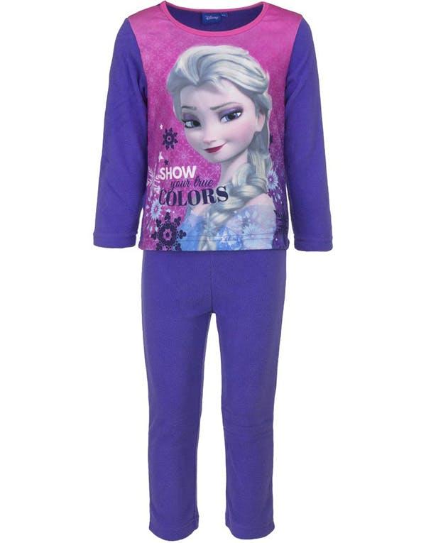 Lilla Elsa Pyjamas   Mysdress i Fleece till Barn 40e65bad013fa