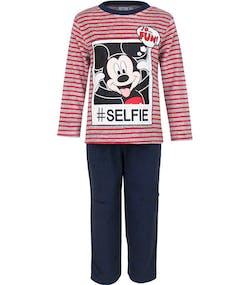 Röd och Grå Musse Pigg Velour Pyjamas till Barn 9f300292f3806