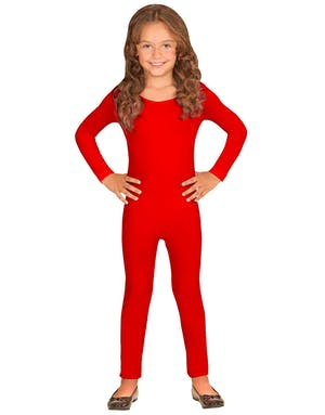 29be1d97 Rød Bodysuit til Barn med Lange Ermer - Body og Jumpsuit - Andre ...