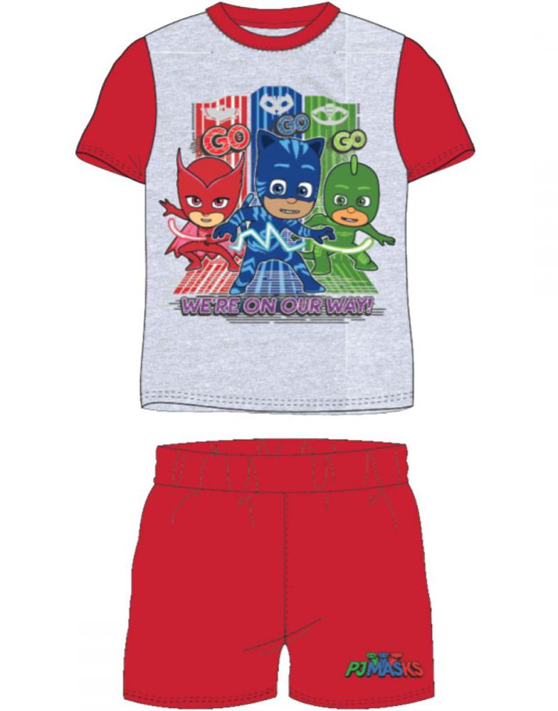 PJ Masks T skjorte og shorts, Hvit