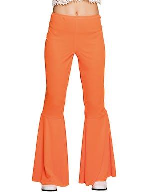 384c22c7 Orange Retro Slengbukse til Dame