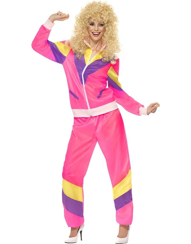 b5459006 80-talls Rosa Grilldress Kostyme