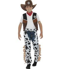 Texas Cowboy Barndräkt 5 Delar c519b7a52eaaa
