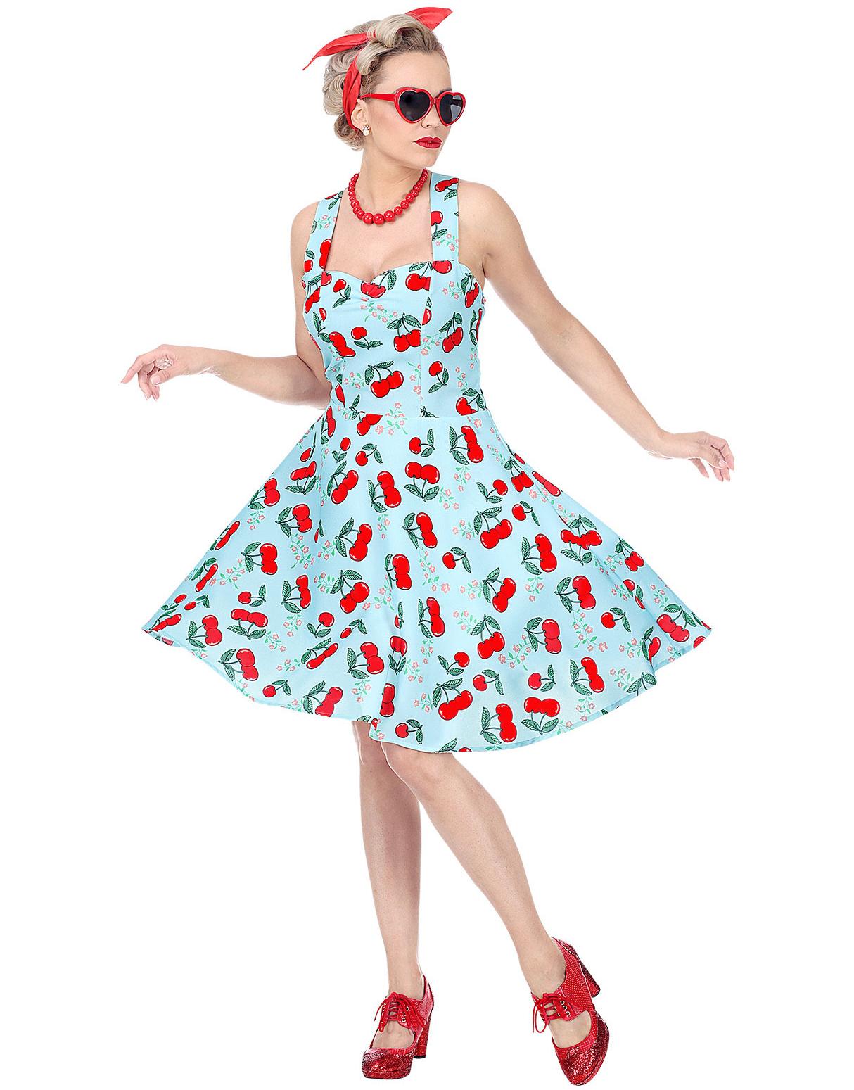 Hello Sailor kjole, 50 talls stil, st. S M